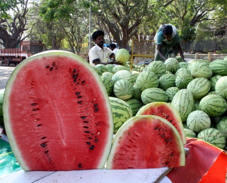 ... is there any as precise as the sight of water melons on roads and ...